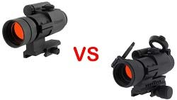 difference between Aimpoint aco vs pro