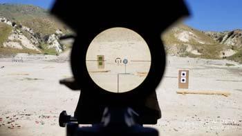 6x rifle scope