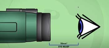 Standard eye relief