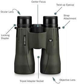 Vortex Diamondback 10×50 binoculars