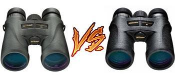 Detail Comparison of Nikon monarch vs Prostaff