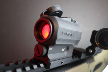 Features of Vortex Optics SPARC Red Dot Sight