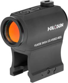 HOLOSUN - HS403B Micro Red Dot Optic (2 MOA)