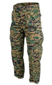 Helikon USMC Trousers Policotton Twill Digital Woodland