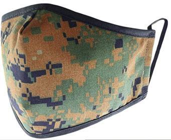 Reusable Washable Military Grade Cotton Blend Cloth Face Cover