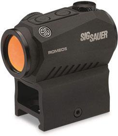 Sig Sauer SOR52001 Romeo5 1x20mm Compact 2 Moa Red Dot Sight