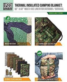 USGI Industries Military Woobie Blanket