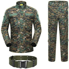 H World Shopping Military Tactical Mens Hunting Combat BDU Uniform