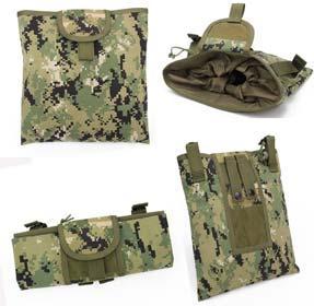 Warrior Quest 1000D Nylon Folding Tactical Dump Pouch